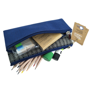 85033 100% Recycled PET Fabric Flat Folded Pencil Case