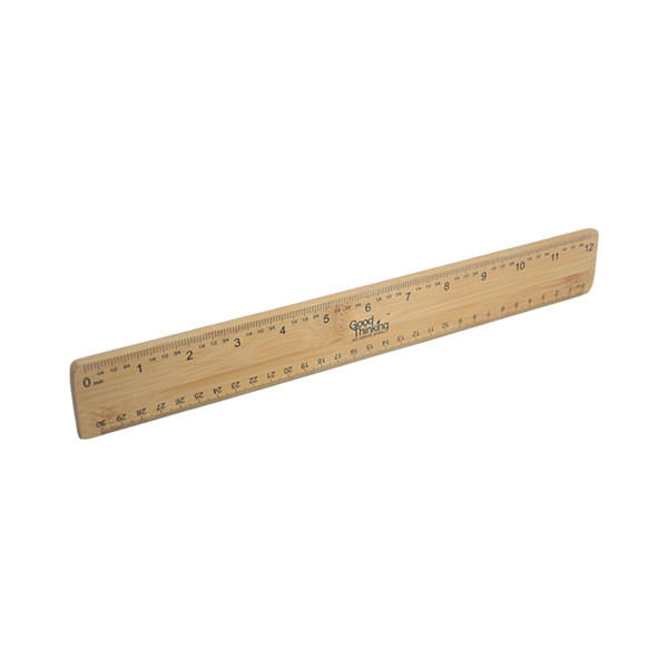 Eco-friendly Bamboo Ruler 30CM